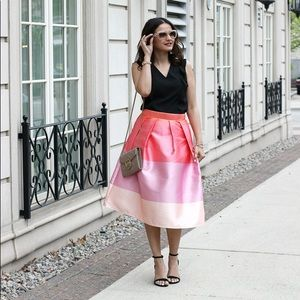 Ombré skirt Chicwish